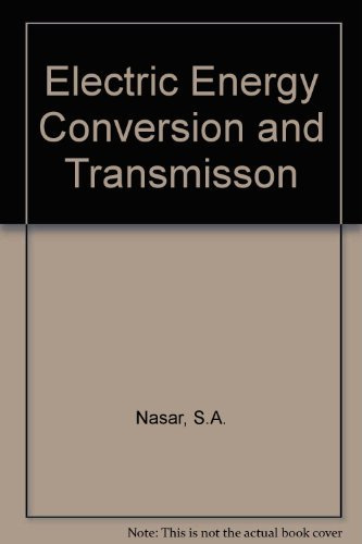 9780023859601: Electric Energy Conversion and Transmission