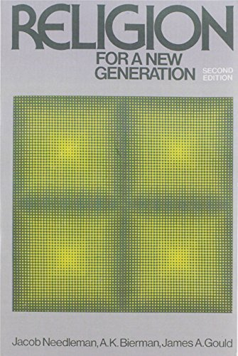 9780023859908: Religion for A New Generation (2nd Edition)