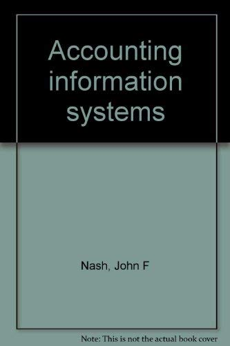 9780023860508: Accounting information systems