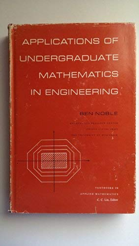 9780023871603: Applications of Undergraduate Mathematics in Engineering