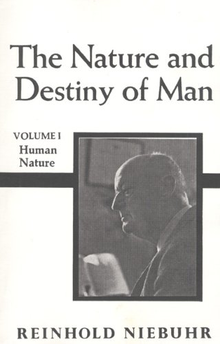9780023875106: The Nature and Destiny of Man, Volume 1