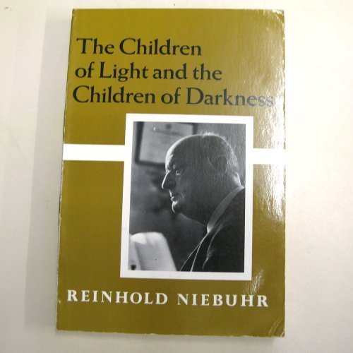 Children of Light and the Children of Darkness 9780023875304 Paperback. ISBN 0023875305. Ex-library w usual stamps, labes. Glossy covers show mildly rubbed w moderate edge wear. Spinal creasing, pages secure in binding, show w infrequent red underlinings.