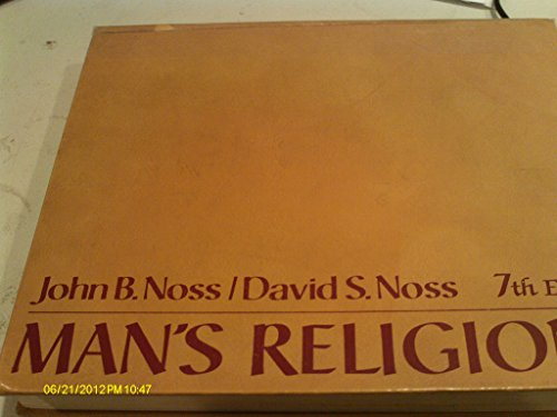9780023884702: Man's Religions