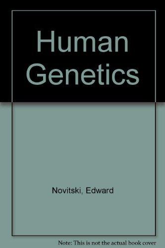 9780023885709: Human Genetics