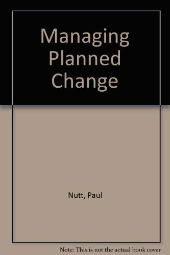 9780023886850: Managing Planned Change