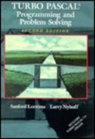 Turbo Pascal without Disk (2nd Edition): Sanford Leestma, Larry