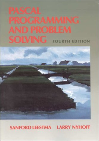 9780023887314: PASCAL: Programming and Problem Solving