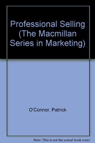 9780023888700: Personal Selling (The Macmillan Series in Marketing)