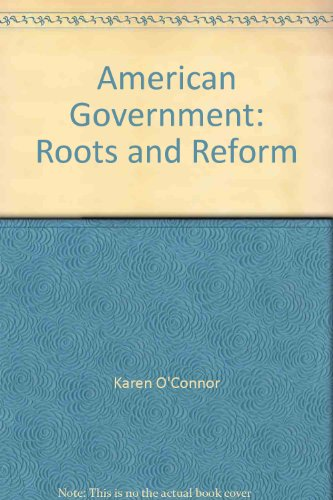 9780023888953: American Government: Roots and Reform