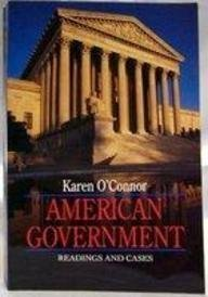 9780023889004: American Government: Readings and Cases