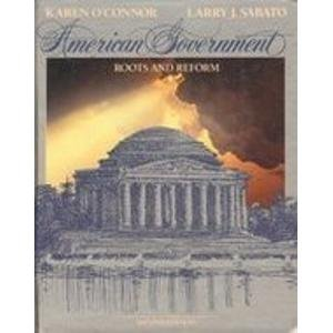 9780023889042: American Government: Roots and Reform