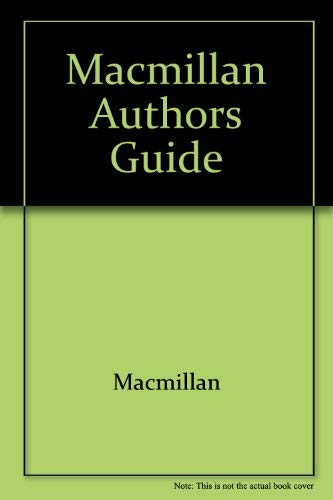 9780023891205: Macmillan Authors Guide