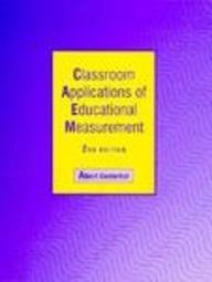 9780023893506: Classroom Applications of Educational Measurement