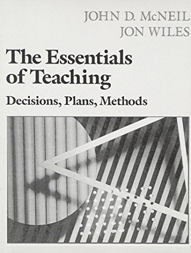 9780023894107: The Essentials of Teaching