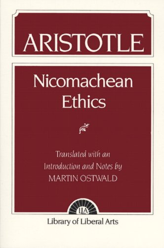 9780023895302: Nicomachean Ethics (Library of Liberal Arts)