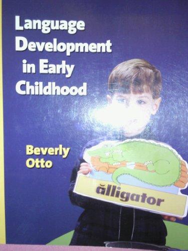 9780023895449: Language Development in Early Childhood