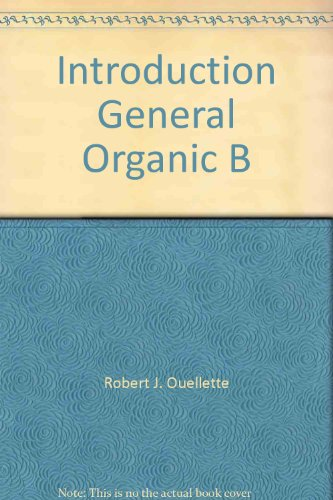 9780023899331: Introduction General Organic B