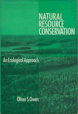 9780023899508: Natural Resource Conservation: An Ecological Approach