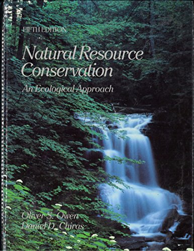 9780023901119: Natural Resource Conservation: An Ecological Approach