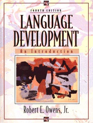 9780023901911: Language Development: An Introduction