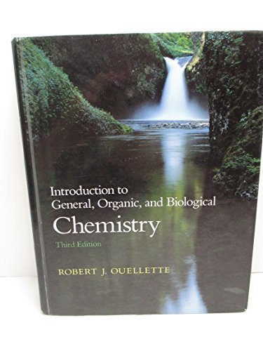 9780023902451: Introduction to General, Organic, and Biological Chemistry