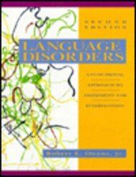 9780023902710: Language Disorders: A Functional Approach to Assessment and Intervention