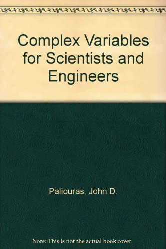 9780023905506: Complex Variables for Scientists and Engineers