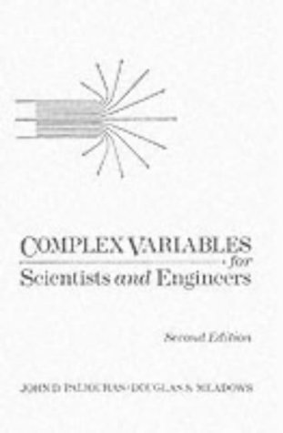 9780023905612: Complex Variables for Scientists and Engineers