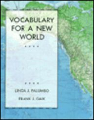 9780023905674: Vocabulary for a New World