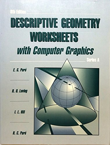 9780023909511: Descriptive Geometry Worksheet