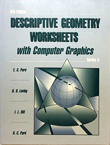 9780023909511: Descriptive Geometry Worksheet