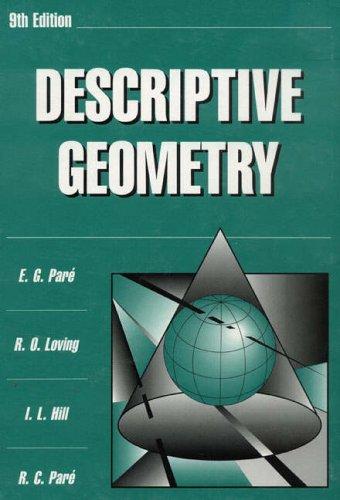 9780023913419: Descriptive Geometry (9th Edition)