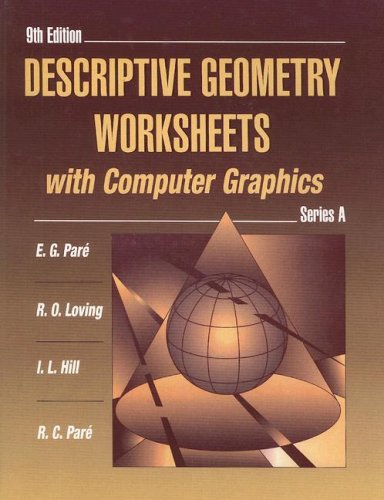 9780023913426: Descriptive Geometry Worksheets with Computer Graphics, Series A