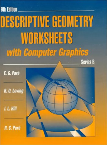 9780023913440: Descriptive Geometry Worksheets with Computer Graphics, Series B