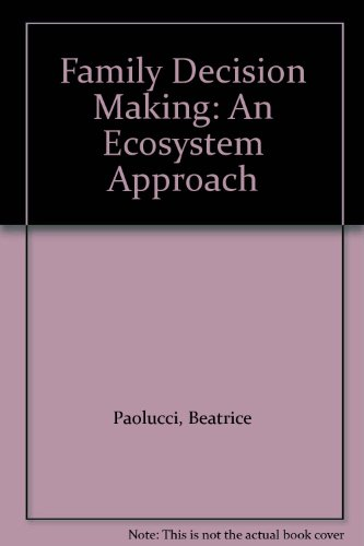 9780023913709: Family Decision Making: An Ecosystem Approach