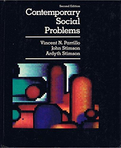 9780023917318: Contemporary Social Problems
