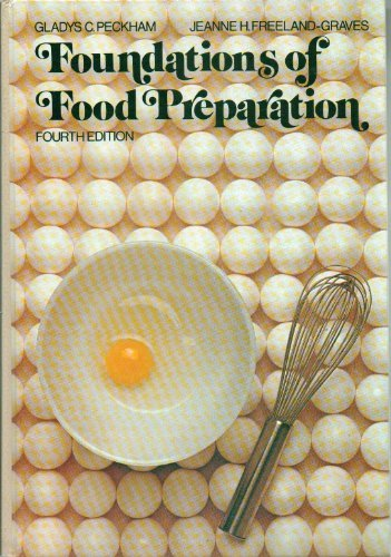 9780023932601: Foundations of Food Preparation