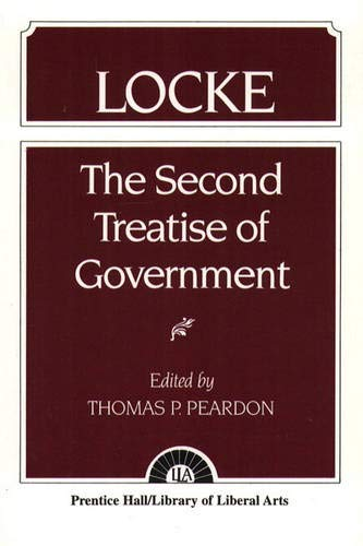 9780023933004: Second Treatise of Government