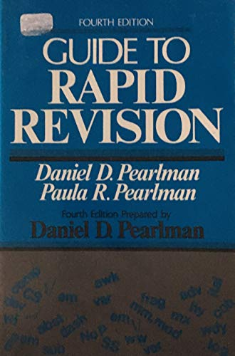 9780023933202: Guide to Rapid Revision