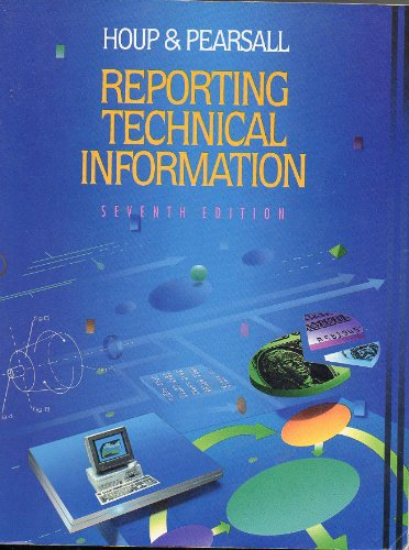 9780023933417: Reporting Technical Information