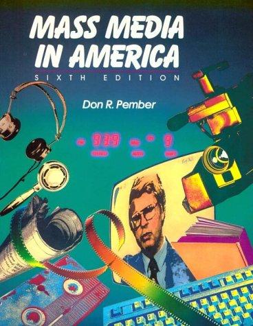 9780023937804: Mass Media in America
