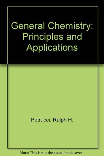 9780023947902: General Chemistry: Principles and Applications