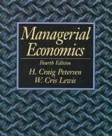 9780023948510: Managerial Economics