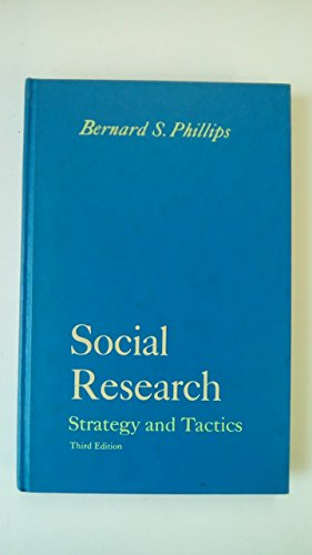 9780023952609: Social Research: Strategy and Tactics