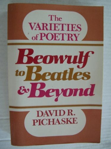 9780023953804: Beowulf to Beatles and Beyond: The Varieties of Poetry