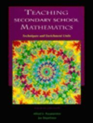 9780023962622: Teaching Secondary School Mathematics: Techniques and Enrichment Units