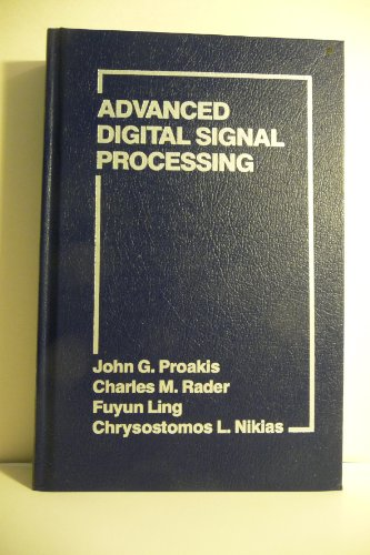 9780023968419: Advanced Topics in Digital Signal Processing