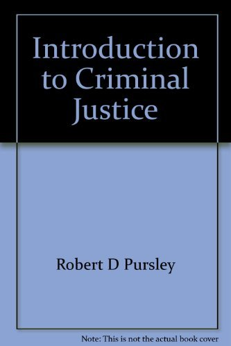 9780023969102: Introduction to criminal justice (Macmillan criminal justice series)