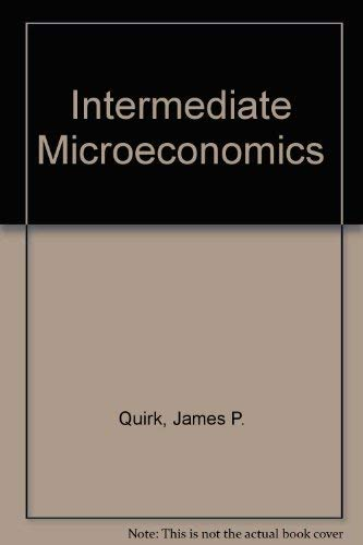 9780023971716: Intermediate Microeconomics