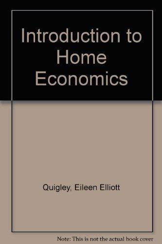 9780023972003: Introduction to Home Economics